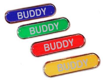 BUDDY bar badge